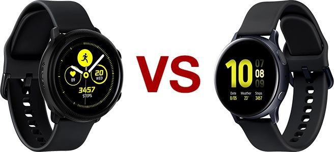 galaxy watch active 1 vs galaxy watch active 2