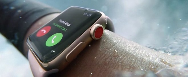apple watch под водой